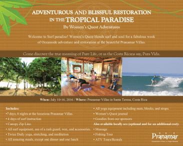 Pranamar villas upcoming events
