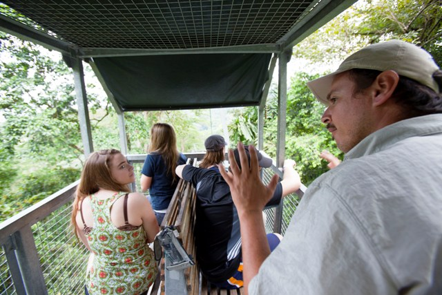Veragua Rainforest for student educational trips to Costa Rica