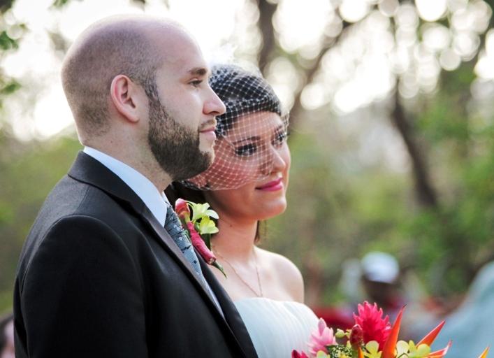 Unique Costa Rica destination wedding location: Rincon de la Vieja Volcano