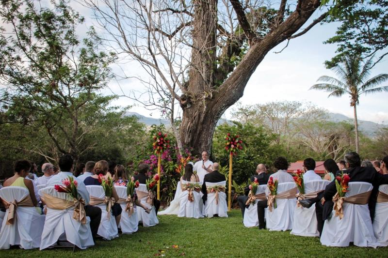 Wedding at Hacienda Guachipelin, Guanacaste, Costa Rica