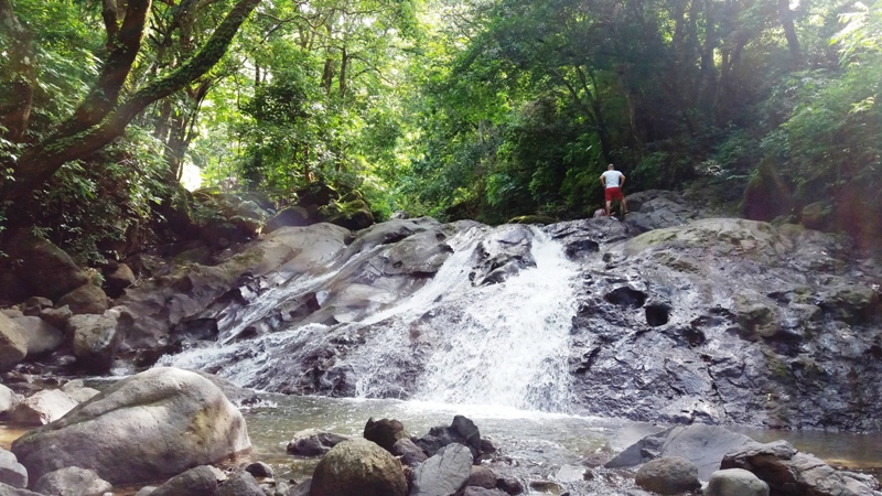 Waterfalls in Desmonte by Atenas Costa Rica