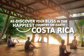 Re-discover your bliss, searching for wellness, in Costa Rica