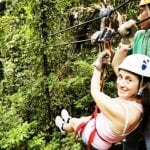 Veragua Rainforest canopy tour in Costa Rica