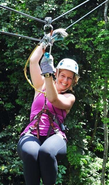 Fun Veragua Rainforest canopy tour in Costa Rica