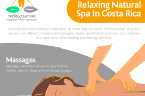 Relaxing Natural Spa in Costa Rica