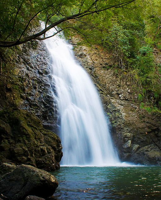 Montezuma Waterfall by Santa Teresa, Costa Rica