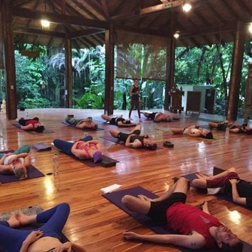 All-women's yoga retreat at Pranamar Oceanfront Villas in Santa Teresa