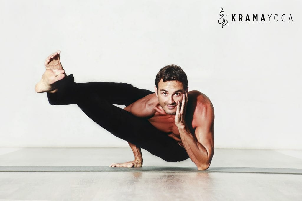 Esteban Salazar own Krama Studio in Escazu and is an experienced and well respected yoga instructor