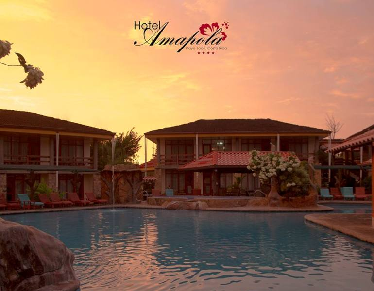 Hotel Amapola , Playa Jacó, Costa Rica.