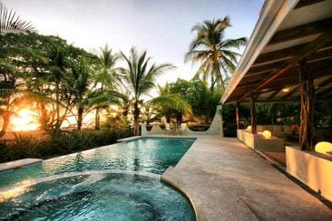 Experience paradise at this Santa Teresa Costa Rica beachfront hotel