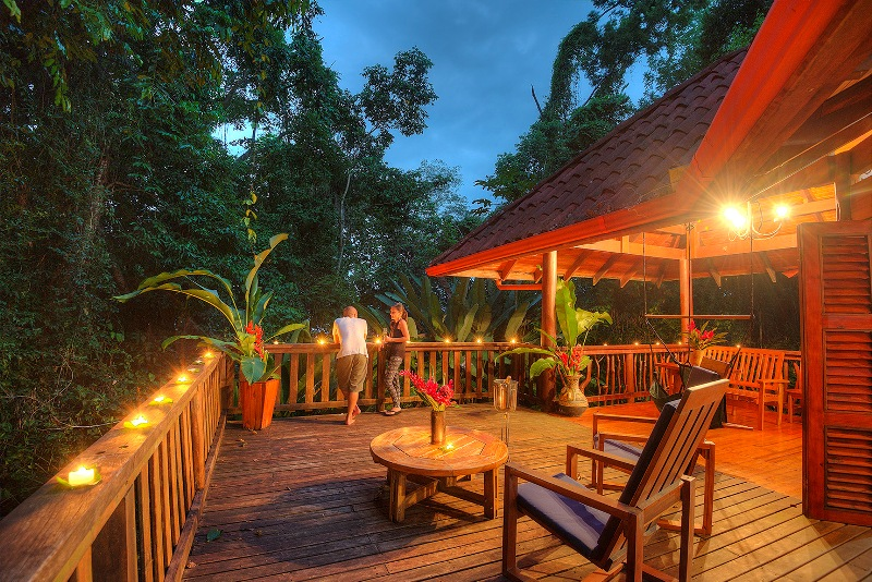 Honeymoons in Costa Rica at Nicuesa Rainforest Lodge