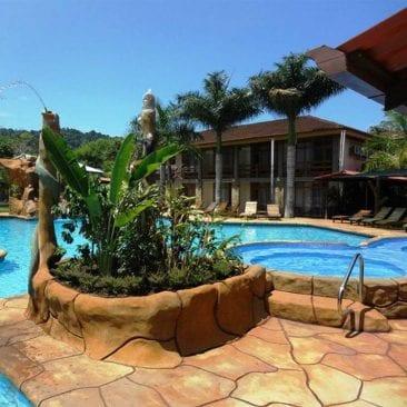 Mini vacaciones en el Hotel Amapola en Playa Jacó