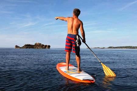 Standup Paddle Boarding Santa Teresa Costa Rica