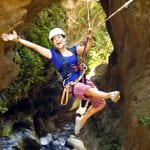 Canopy zip line tour at Hacienda Guachipelin in Costa Rica