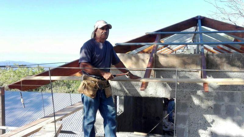 Ovido Perez Gonzalez, master builder in Atenas Costa Rica