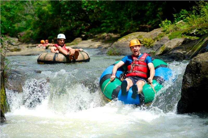 River Tubing Adventure at Hacienda Guachipelin, Costa Rica
