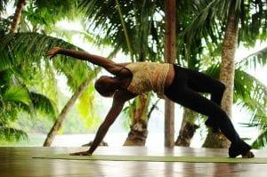 Yoga at Playa Nicuesa Rainforest Lodge in Costa Rica