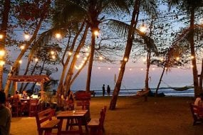 Pranamar Oceanfront Villas and Yoga Retreat offers romantic meals on the beach