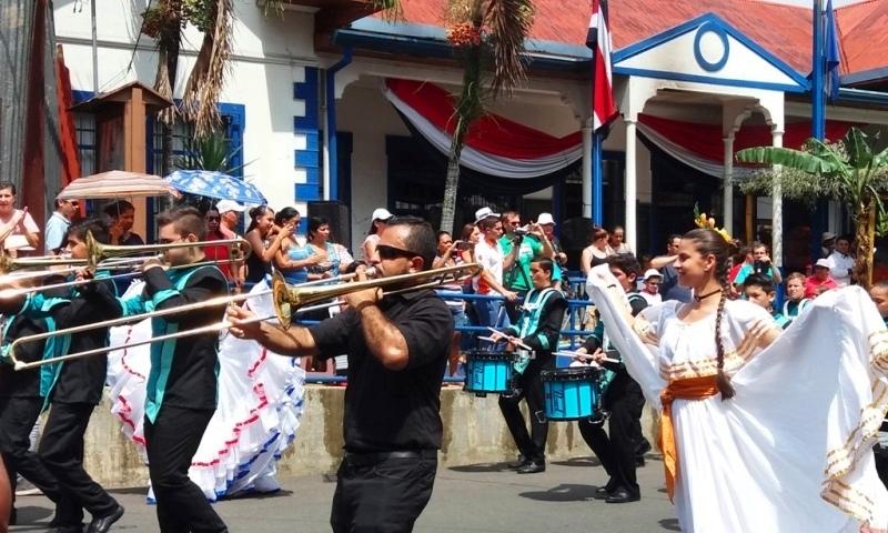 Atenas Costa Rica cultural parade Sep 15
