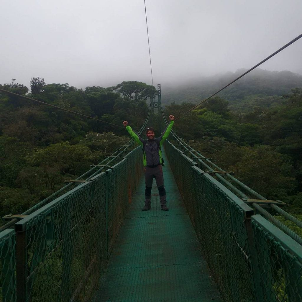 Hanging bridges in Monteverde, photo credit angelot_e.