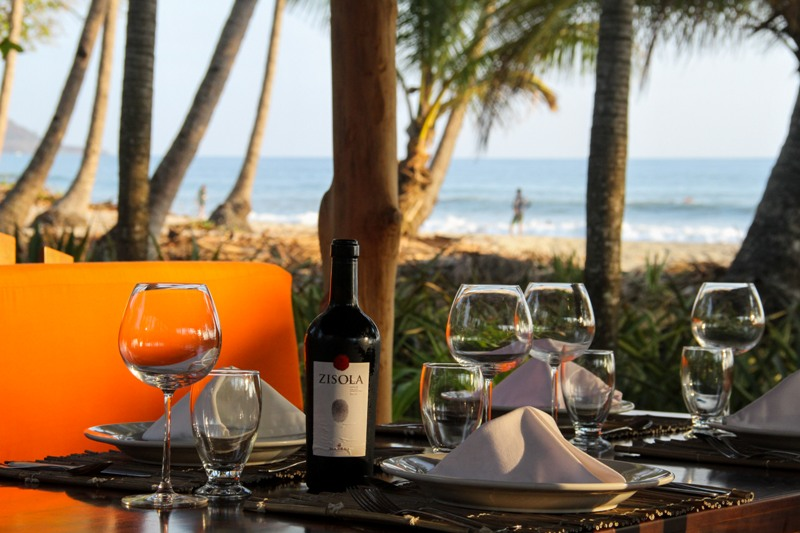 Hotel Tropico Latino restaurant in Santa Teresa Costa Rica