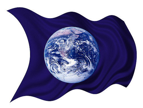 Earth Day flag