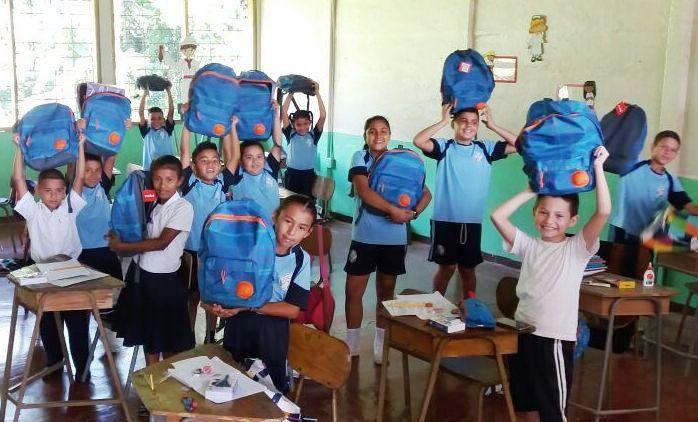Veragua Rainforest schoolchildren Costa Rica