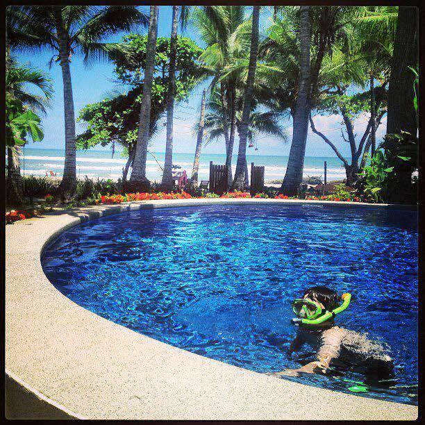 Family vacation Santa Teresa Costa Rica
