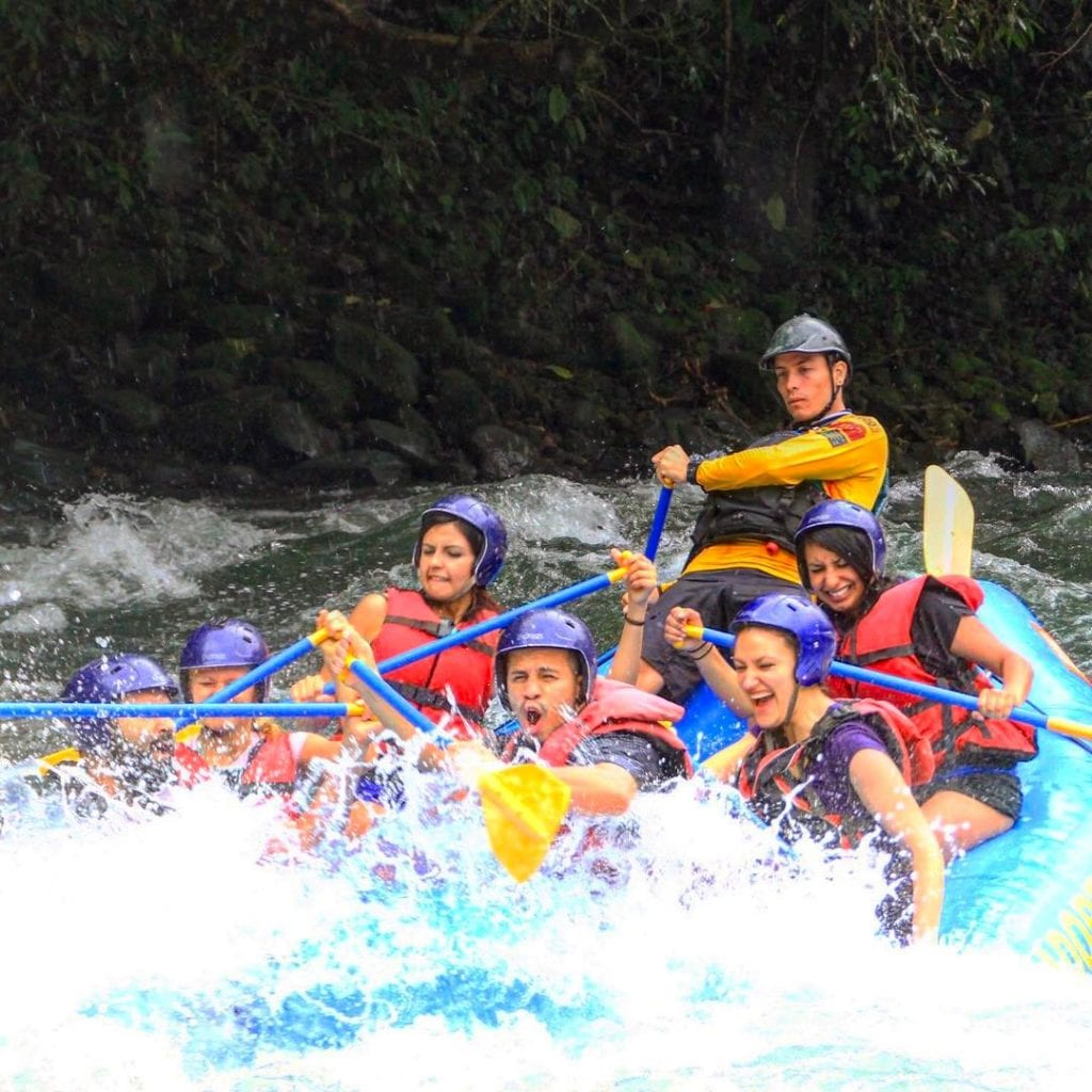 White water rafting on the Pacuare River, photo credit jorgediazjr.boxing.