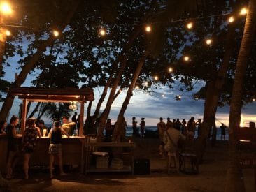 Visit the Tiki Bar at Pranamar Villas for Cocktails on the beach and more