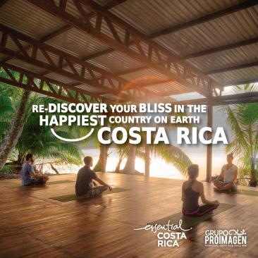 "Costa Rican Tourism Board launches new strategy ""Wellness Pura Vida."""