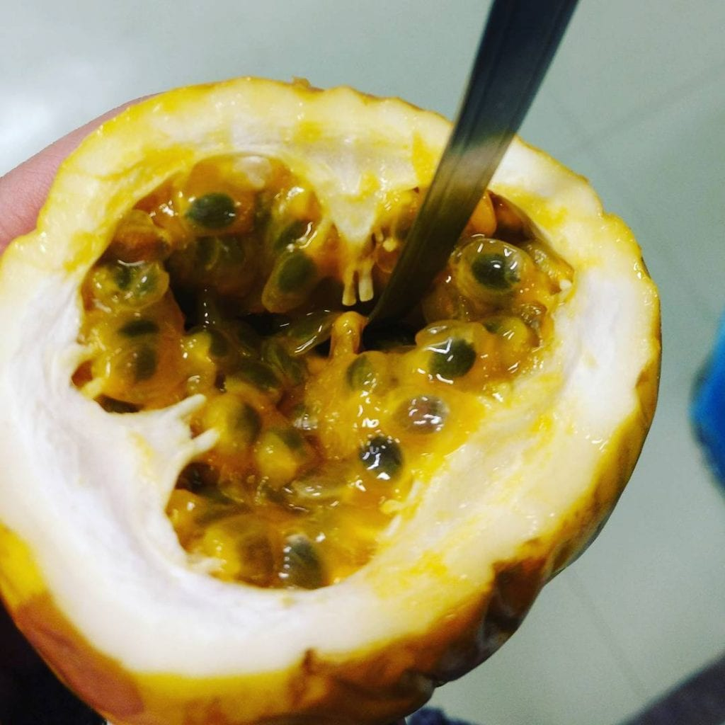 Passionfruit, known as Maracuya in Costa Rica. Photo credit @janalemos2