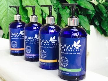Committed to Sustainability … even our Costa Rican natural bath products!