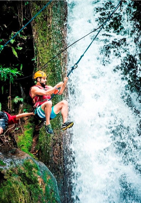 waterfall canyoning guanacaste costa rica