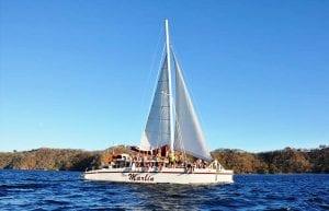 Catamaran sailing tour Guanacaste