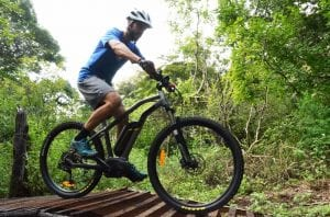 Electric mountain bike tours