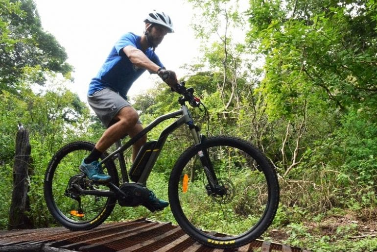 Electric mountain bike in Costa Rica | Guanacaste Biking Tours