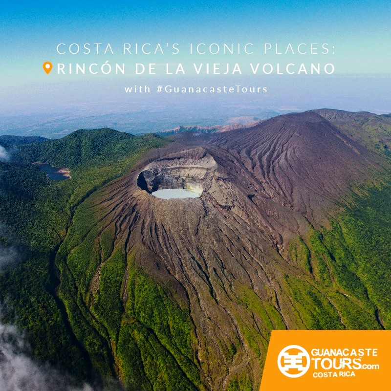 iconic places in costa rica rincon de la vieja volcano