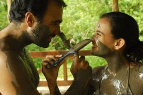 Why should you do a volcanic mud bath?