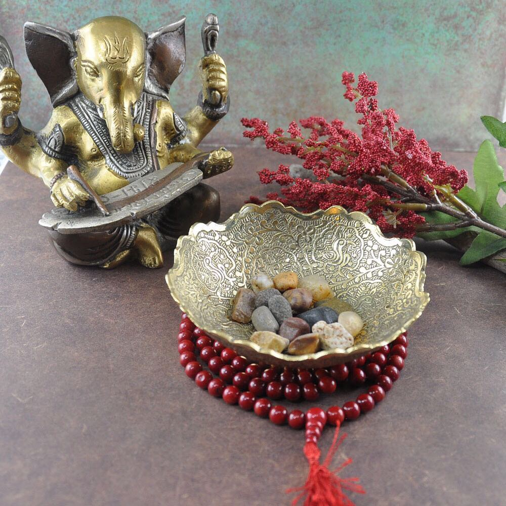 Prepare your meditation space with objects that inspire you, photo credit #teamsivalya.