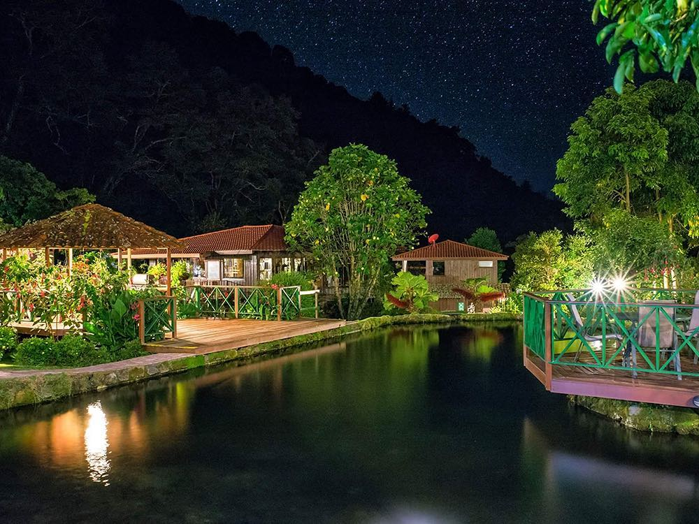 Trogon Lodge in San Gerardo de Dota. Photo credit #trogonlodge.