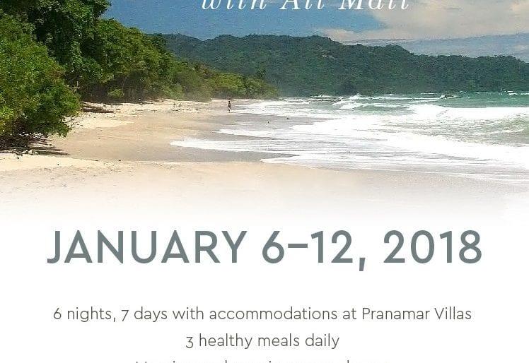 Perfect way to start new year: A Yoga Retreat in Pranamar Villas, Santa Teresa, Costa Rica