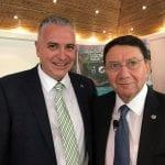 Daniel Chavarria and Taleb Rifai at the P3 Conference