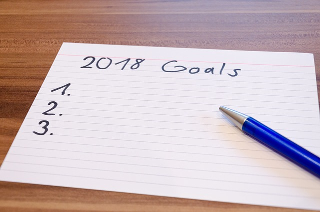 New Year 2018 goals