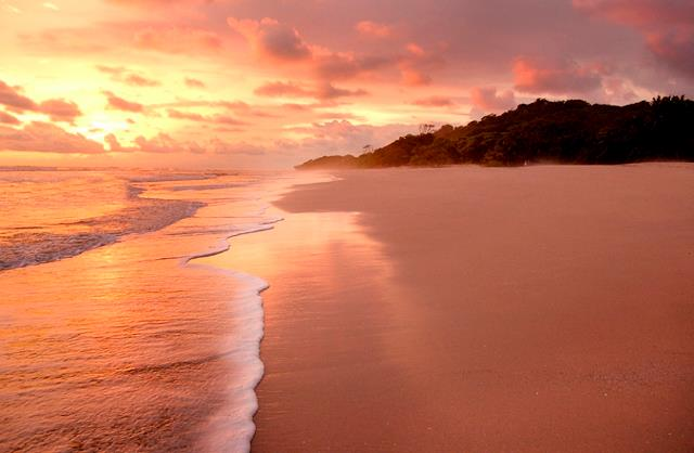 Sunset Santa Teresa Costa Rica