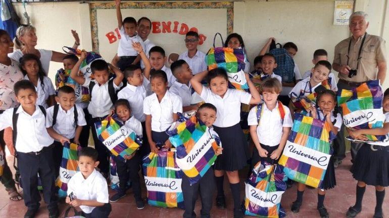 Costa Rican kids get needed school supplies from Veragua Rainforest