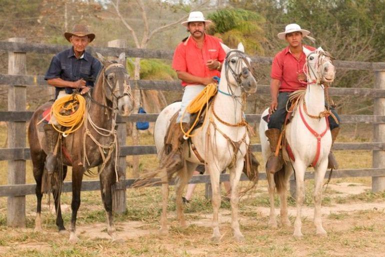 Costa Rica Cowboy Saturdays at Hacienda Guachipelin