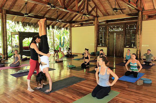 Yoga at Pranamar Villas santa teresa costa rica