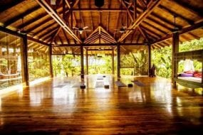 Peace and yoga at Pranamar Villas in Santa Teresa