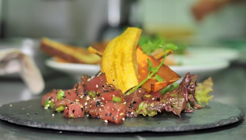 Pranamar Villas restaurant lunch